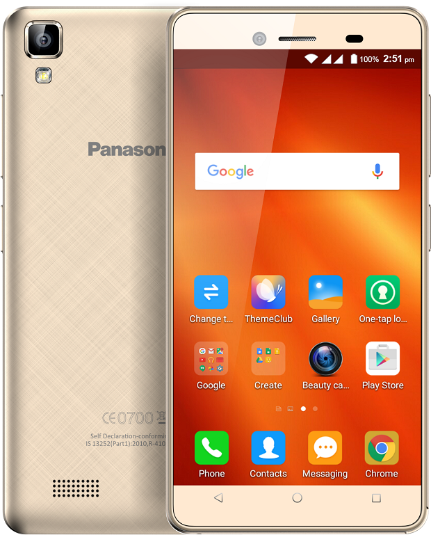 Panasonic launches T50 smartphone at Rs 4,990