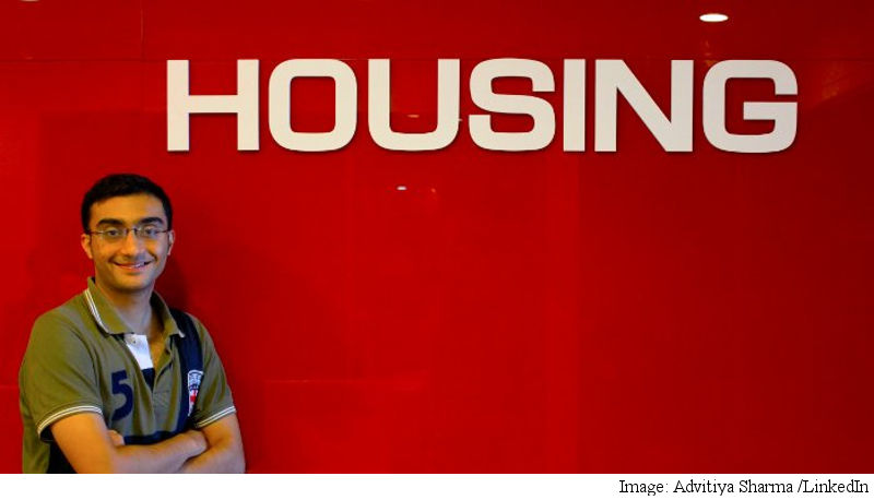 Housing Co-Founder Advitiya Sharma Quits: Report