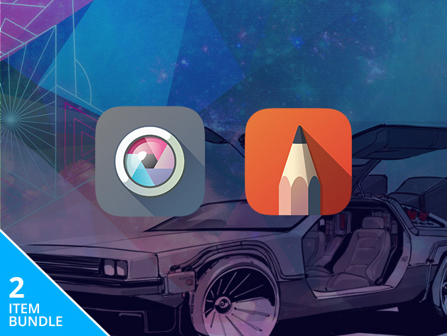 Get one year of Pixlr Pro and SketchBook Pro for $19.99