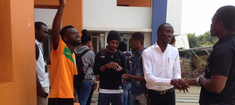 'They already had it in mind.' Some African students feel that locals were just looking for an excuse to attack them.