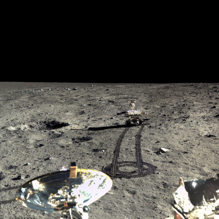 China Just Released True Color HD Photos Of The Moon