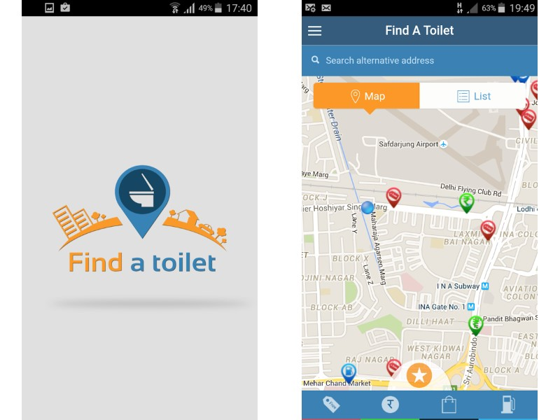Swachh Bharat: New App Helps Locate Public Toilets in Delhi