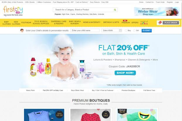Ratan Tata invests in baby products retailer FirstCry
