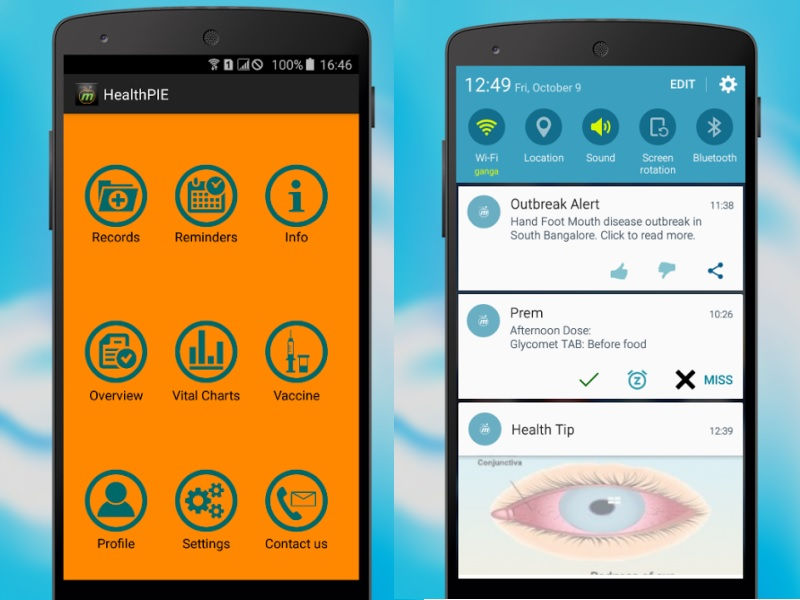 Keep Falling Sick? Try the Health-PIE App