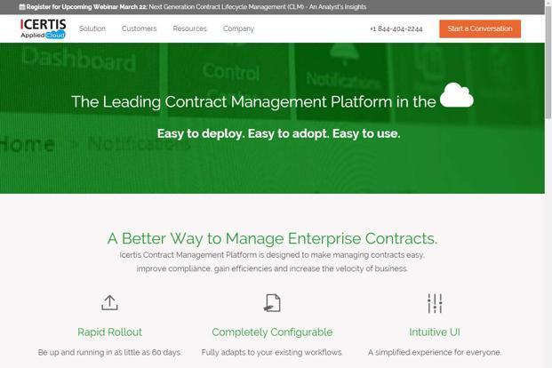 Contract management software company Icertis raises $15 million