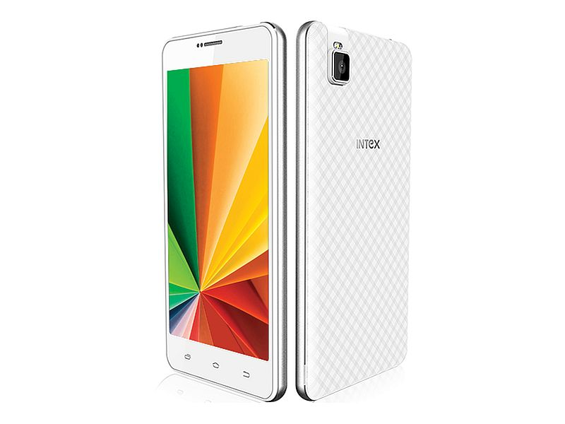 Intex Aqua Twist With 5-Megapixel Rotating Camera Launched at Rs. 5,199
