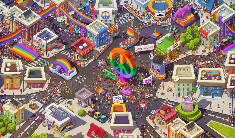 Atari Launches Pridefest to Celebrate 'Fun and Colour' of LGBTQ Pride Parades