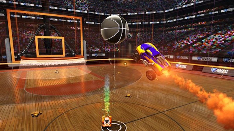 Soon, Play Basketball in Car-Football Game Rocket League