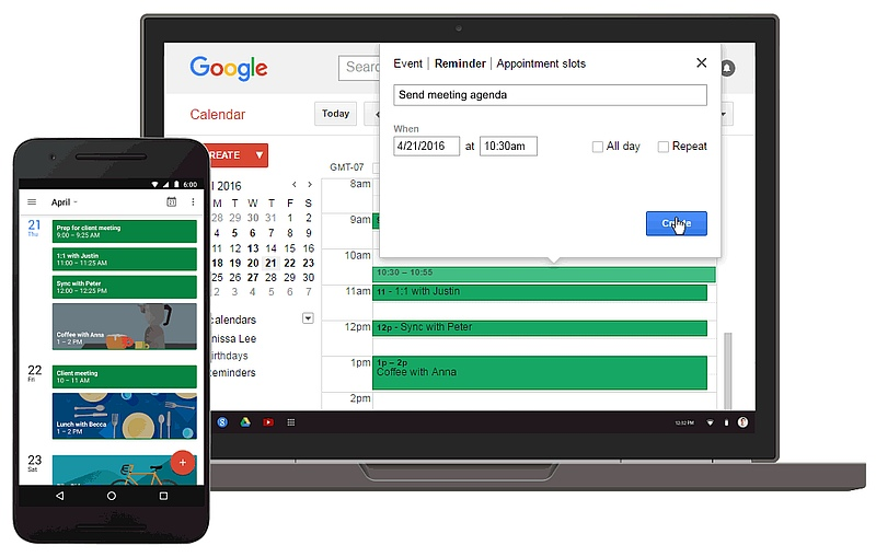 Google Brings Calendar Reminders to the Web