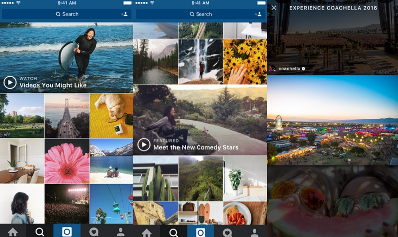 Instagram to Add Video Channels to 'Explore' Section