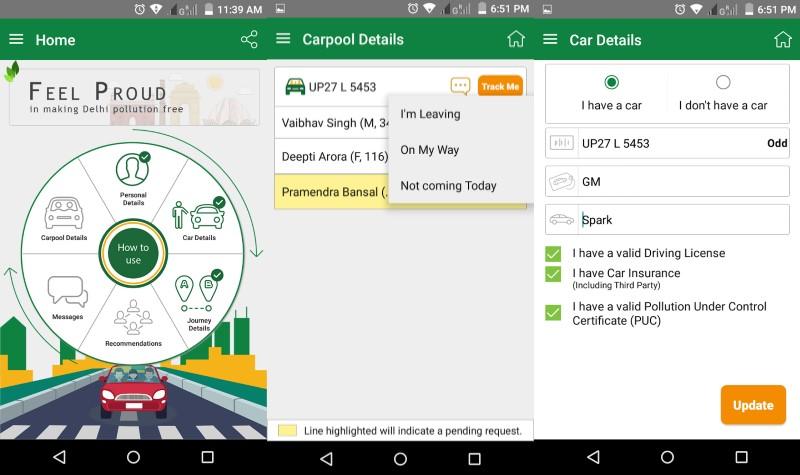 PoochO Carpool App Launched Ahead of Delhi's Odd-Even Scheme