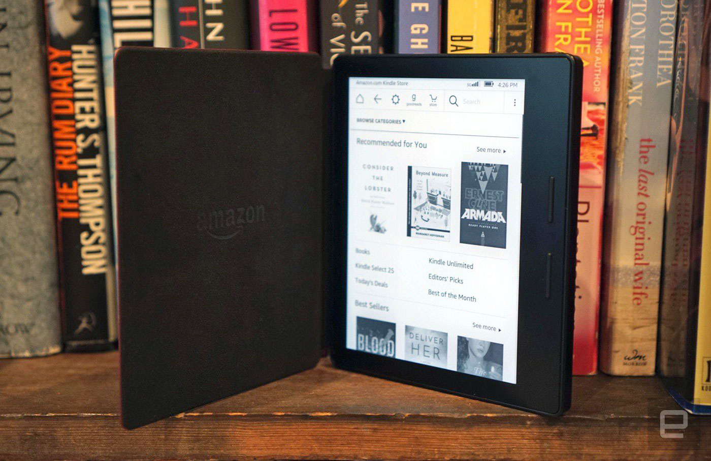 Kindle Oasis review: the ideal e-reader for the 1 percentage