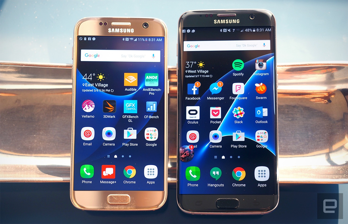 Galaxy S7 and S7 facet assessment: Samsung's best get extra polished