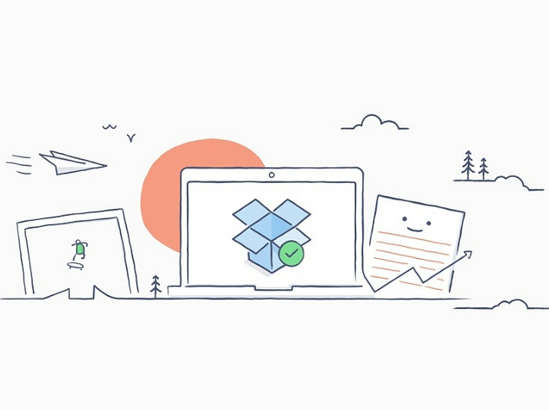 Dropbox 'undertaking endless' indicates Cloud documents as local on windows, OS X