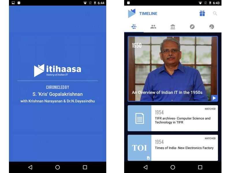 Infosys Co-Founder Launches App Chronicling Indian IT journey