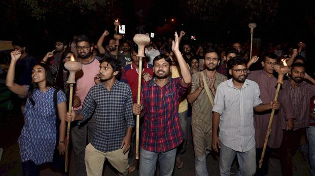 Afzal Guru row: 25 JNU students on indefinite hunger strike