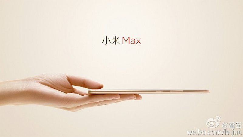 Xiaomi Mi Max slim frame Touted by using CEO in advance of may additionally 10 launch
