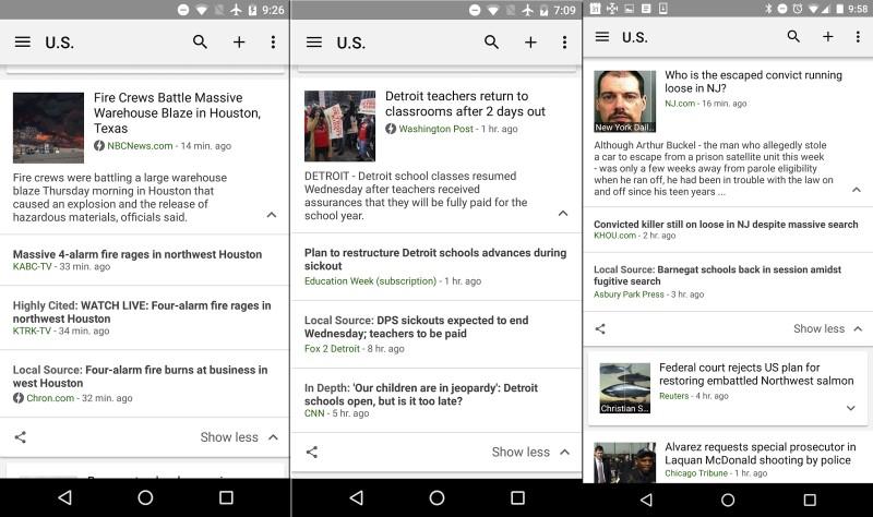 Google information Now Shines spotlight on neighborhood coverage
