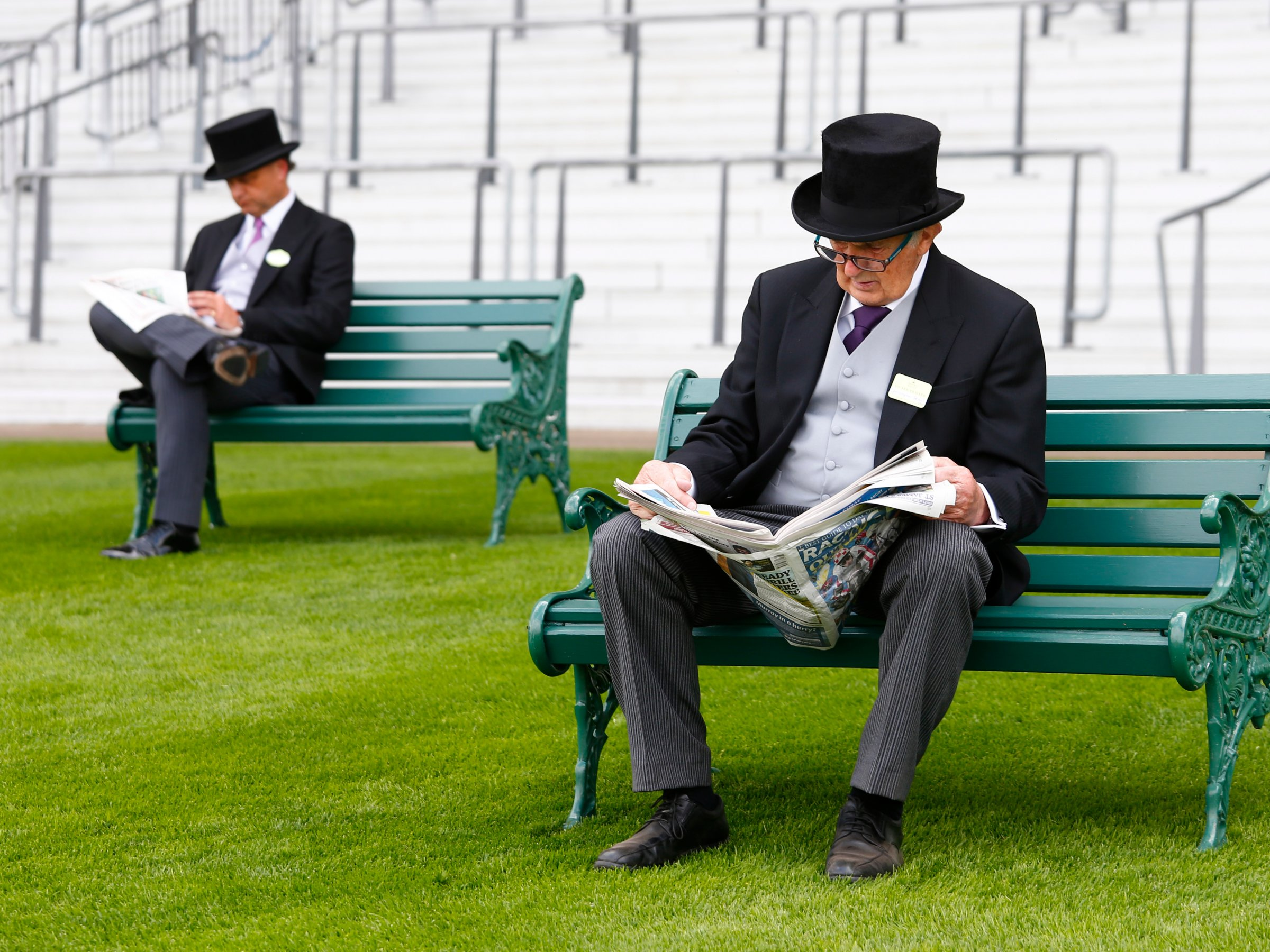 wealthy individuals consider old white men the maximum