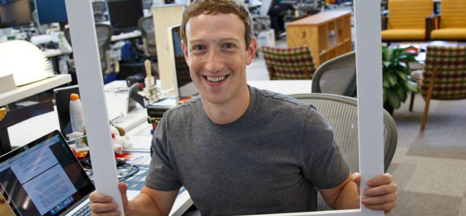 Mark Zuckerberg appears to put Tape Over His computer Webcam