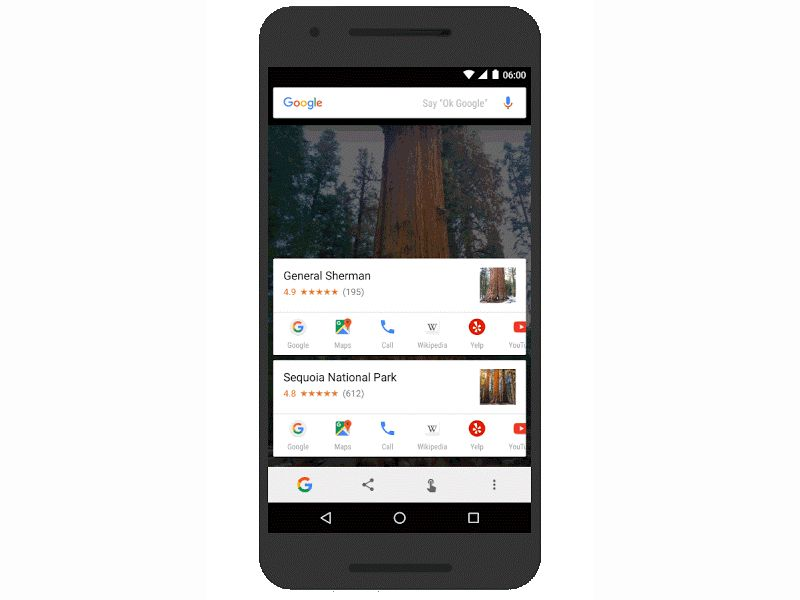 Google's Now on faucet receives New nearby places, brief moves alternatives