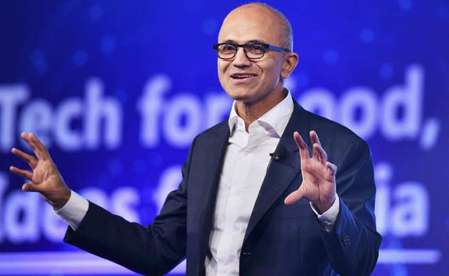 it's about Celebrating generation India Creates, Says Microsoft CEO Satya Nadella