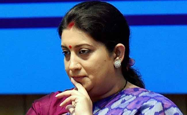 don't Be Deterred by way of screw ups: Smriti Irani Tells college students