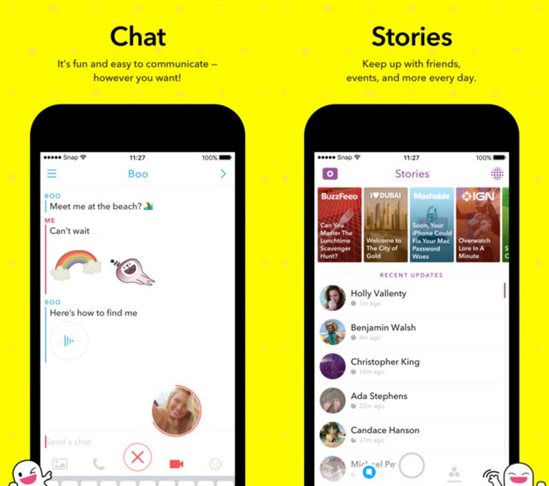 Snapchat Redesigns App to Shift interest to Media Channels