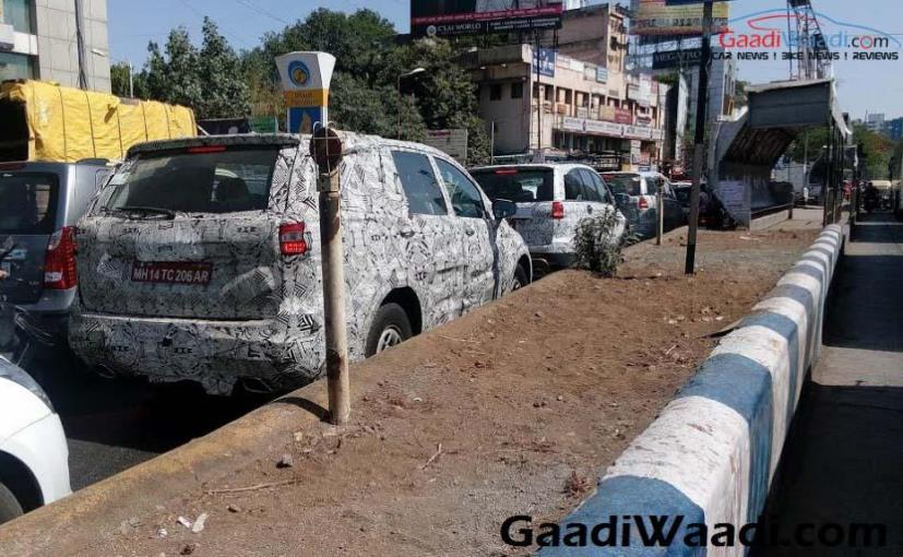 Tata Hexa spotted trying out once more beforehand of release