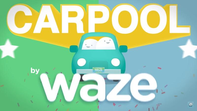 Waze Squeezes Into Uber's Lane With Carpool function