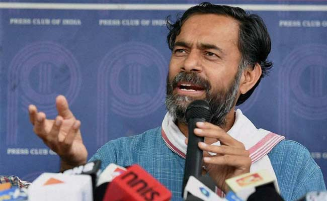 Centre Disobeying very best courtroom Order On Drought-Hit States: Yogendra Yadav