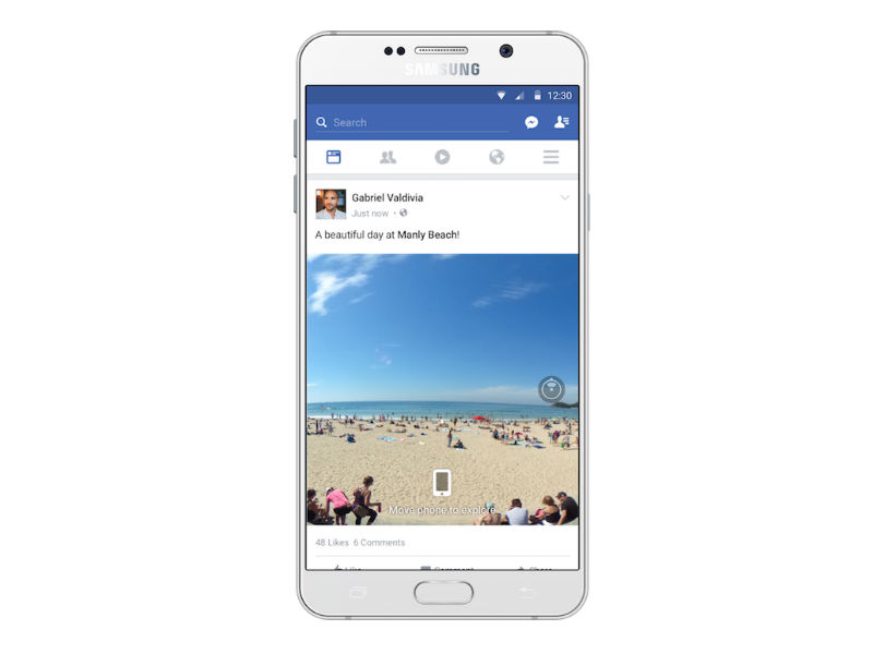 Facebook to Convey 360-Degree Pics to Information Feeds Quickly
