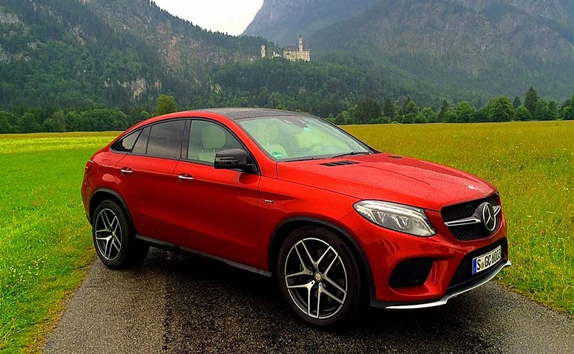 Mercedes-Benz GLE Coupe 450 AMG Evaluate
