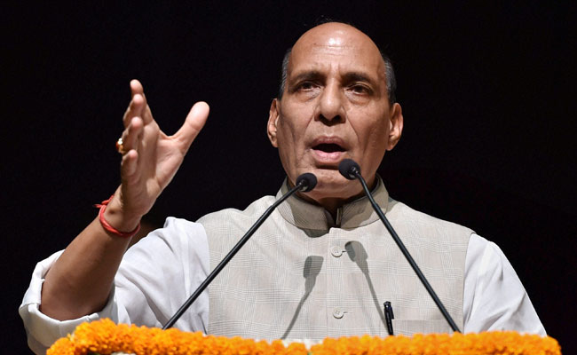 Rajnath Singh Reviews Security Scenario In Jammu And Kashmir