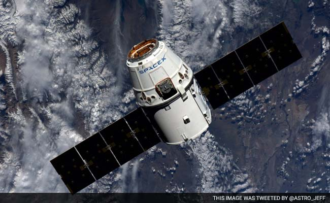 SpaceX's Dragon Shipment Deliver Splashes Down In Pacific
