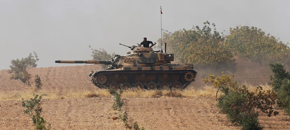 Turkey amps up fight against Islamic State group, sends more tanks and warplanes into Syria