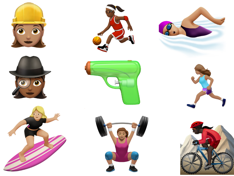 Apple Unveils 100 New 'Gender Diverse' Emojis to Come With iOS 10