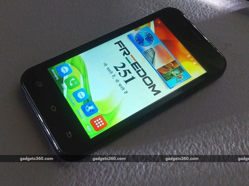 Freedom 251 First Impressions