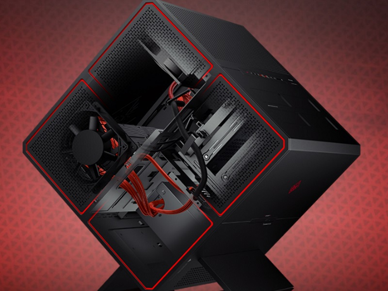 HP Launches Modular Cube-Shaped Omen X Desktop Aimed at High-End Gamers
