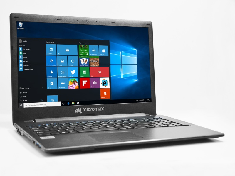 Micromax Alpha LI351 Windows 10 Laptop With 15.6-Inch Display Launched at Rs. 26,990