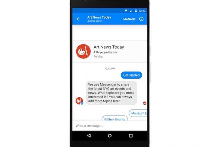 Facebook Messenger Gets Ad Bots
