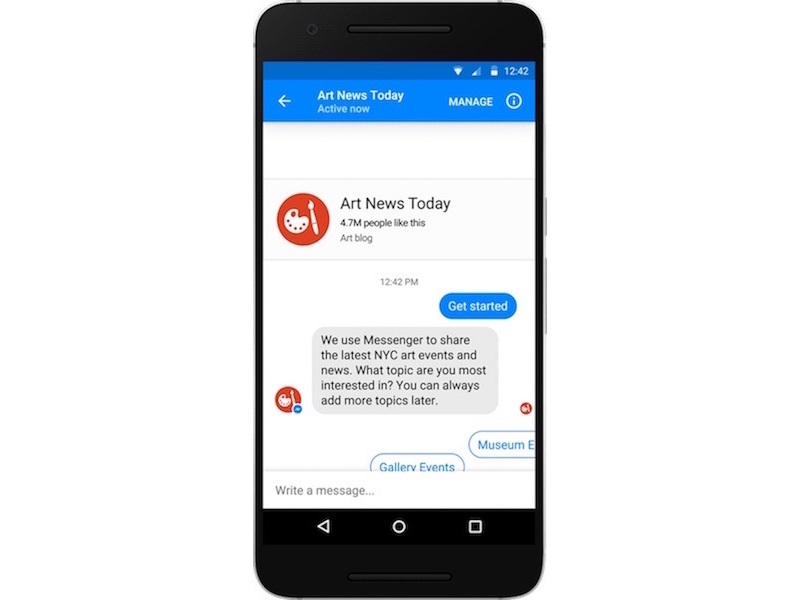 Facebook Messenger Gets Ad Bots
