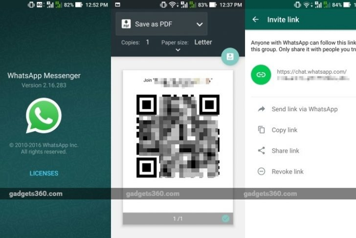 WhatsApp Gets Shareable Links Feature for Group Chat Invites