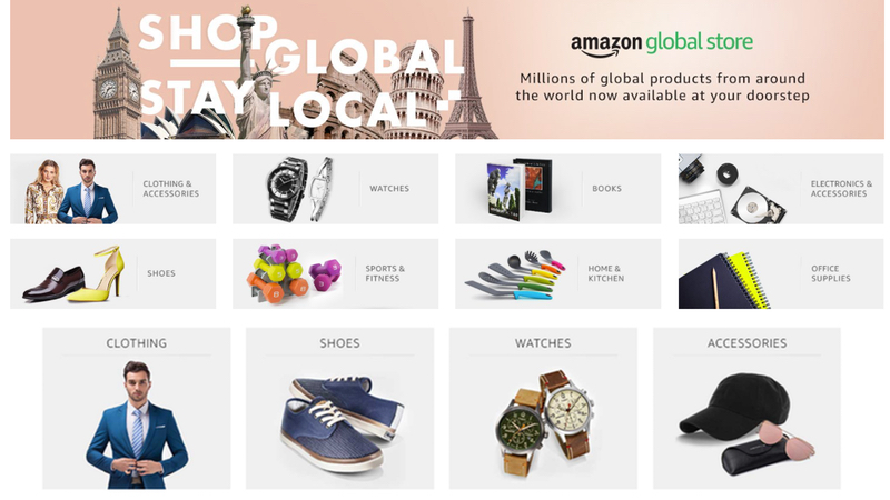 Amazon Global Store Launched in India for Easy Purchase of Goods From Abroad