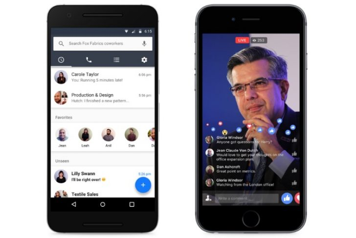 'Facebook for the Workplace' the Next Big Thing for Messaging Apps