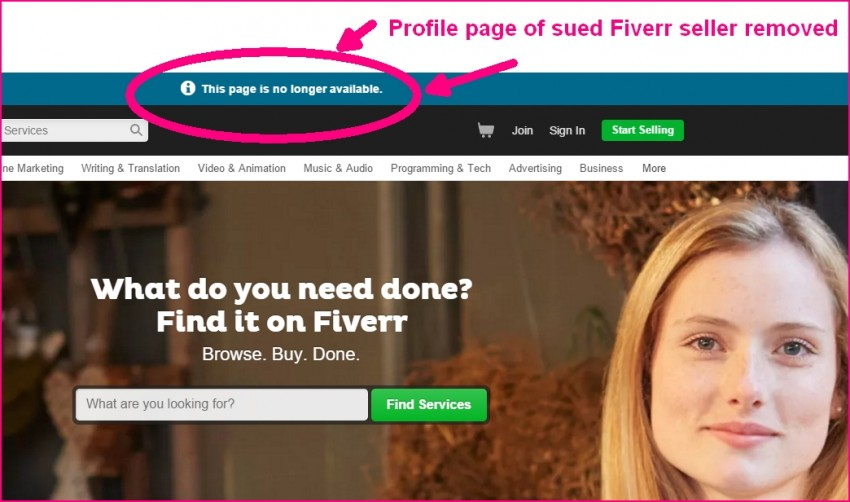 Are Fiverrs Running Scared From Amazon Fake Reviews Lawsuit?