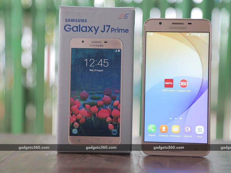 Samsung Galaxy J7 Prime Review