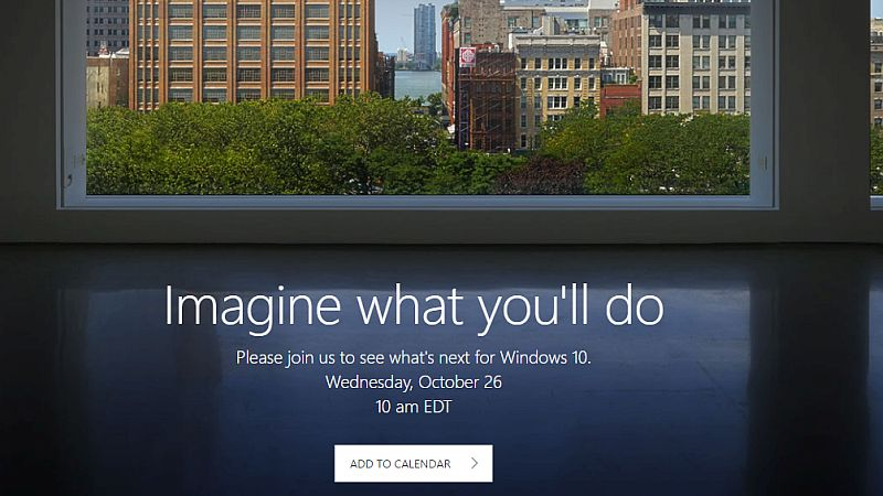 Microsoft Surface AIO Expected to Be Launched at October 26 Windows 10 Event