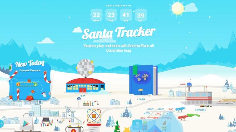 Google's Santa Tracker Revamped; Android App Gets a Pokemon Go-Like AR Game
