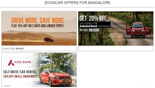Get the Best of Zoomcar Offers Here!